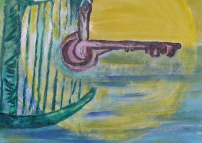 2007- Harpe-crocodile-sirene